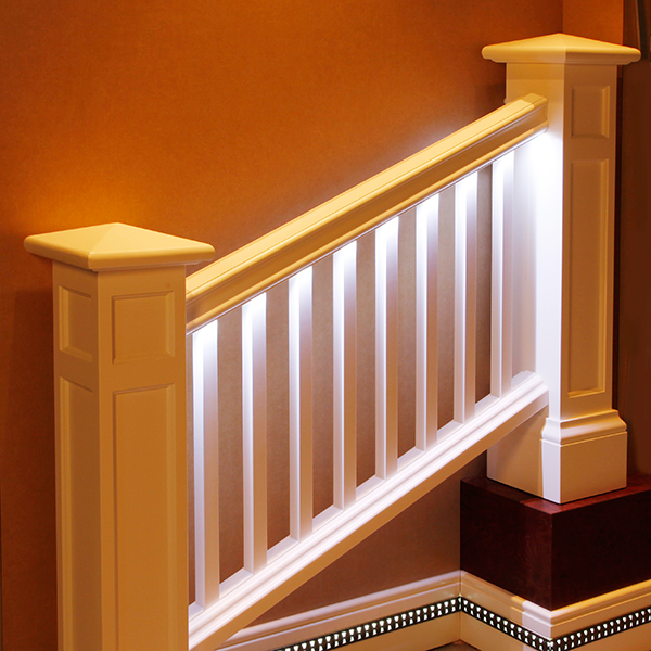 Canned Ceiling Lights Basement Stairs: Light Integrated Trim